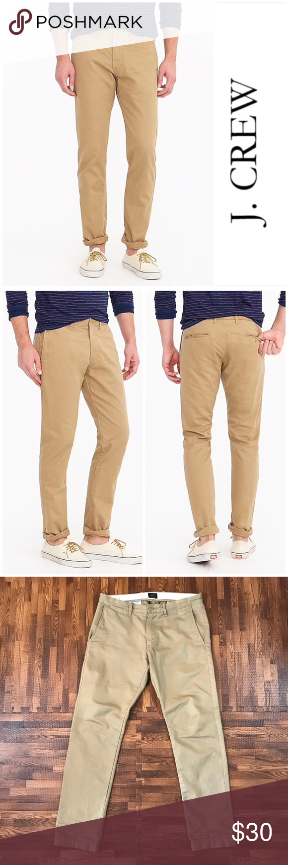 daf390e326f7 J. Crew s 484 Slim Fit Broken In Chino 484 Slim-fit pant in Broken