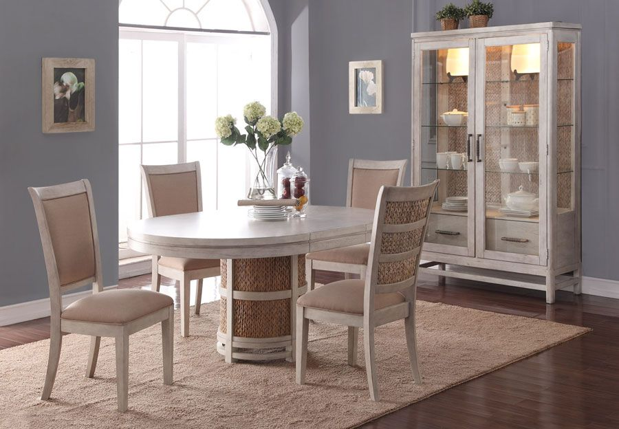 Home Insights Island Breeze Dining Table And Four Side Chairs 999 Furniture Home Home Furnishings