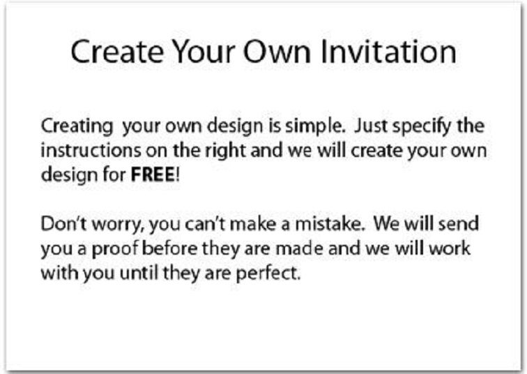 Make Your Own Birthday Invitations Party Invitation Card