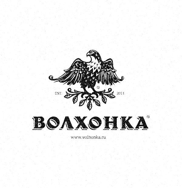 «Волхонка» логотип для коттеджного поселка