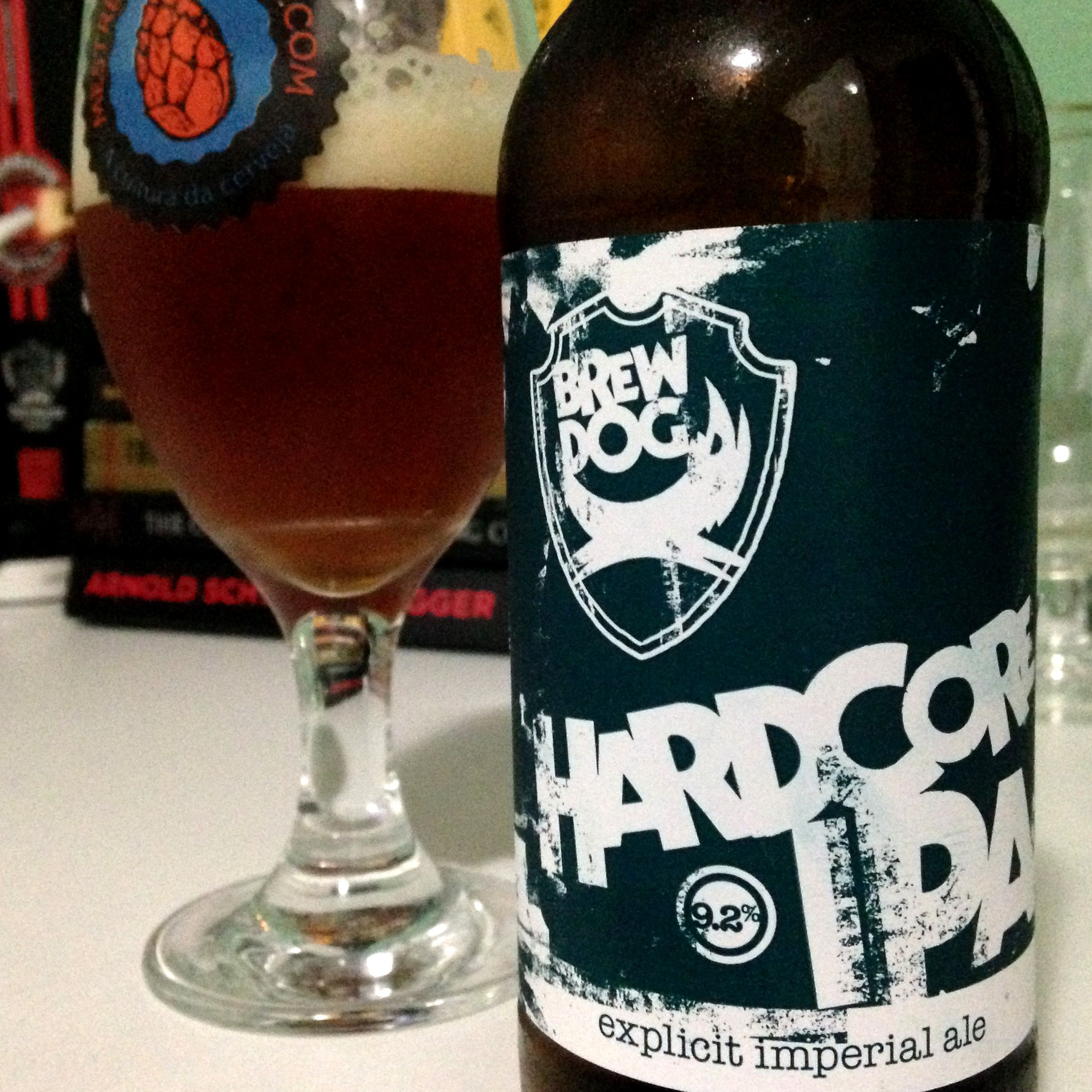 BrewDog Hardcore IPA #cerveja #beer