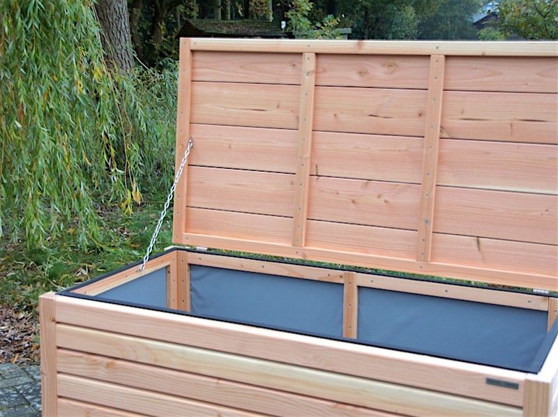 Auflagenbox Kissenbox Holz M Heimisches Holz Douglasie Auch In Farbe Grosse Nach Wahl Auflagenbox Kissenbox Sitztruhe Holz