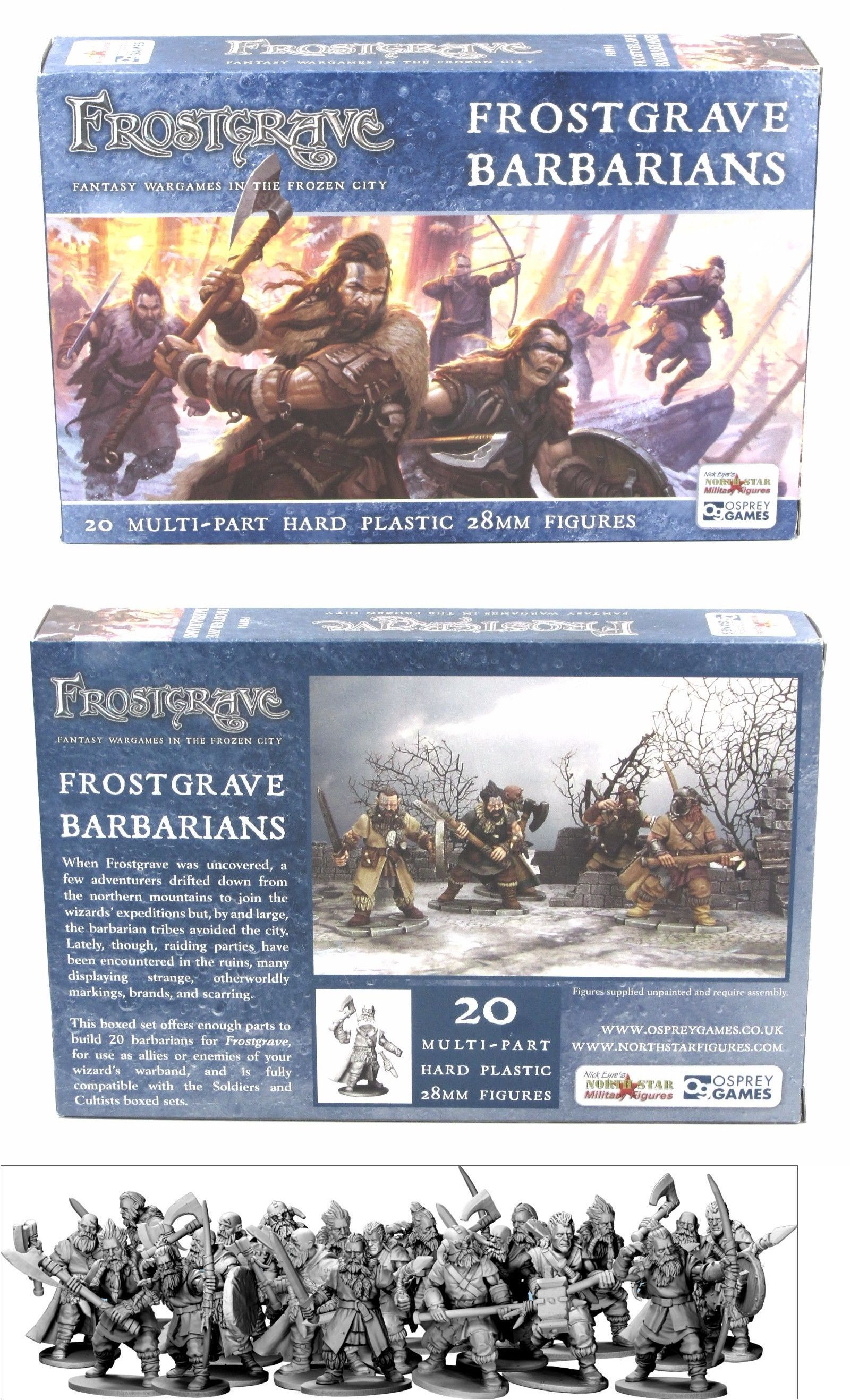 THIEF /& BARBARIAN II FANTASY 28MM FROSTGRAVE FGV242