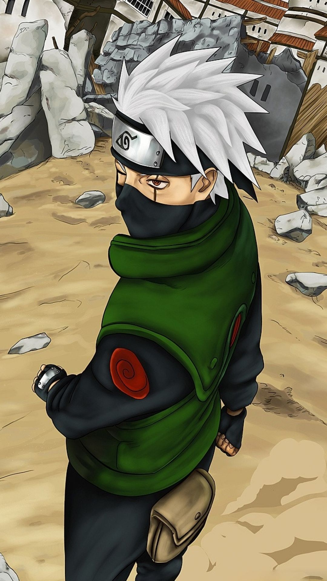 Naruto Shippuuden Man Mask Sand IPhone 6 Wallpaper