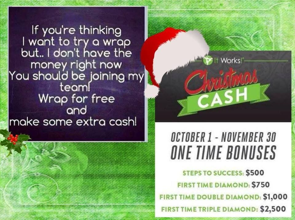 Extra money for christmas yes please steps to success
