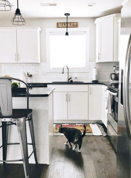 farmhouse kitchen modern white cabinets 22 ideas trendy farmhouse kitchen black granite on farmhouse kitchen granite countertops id=47295