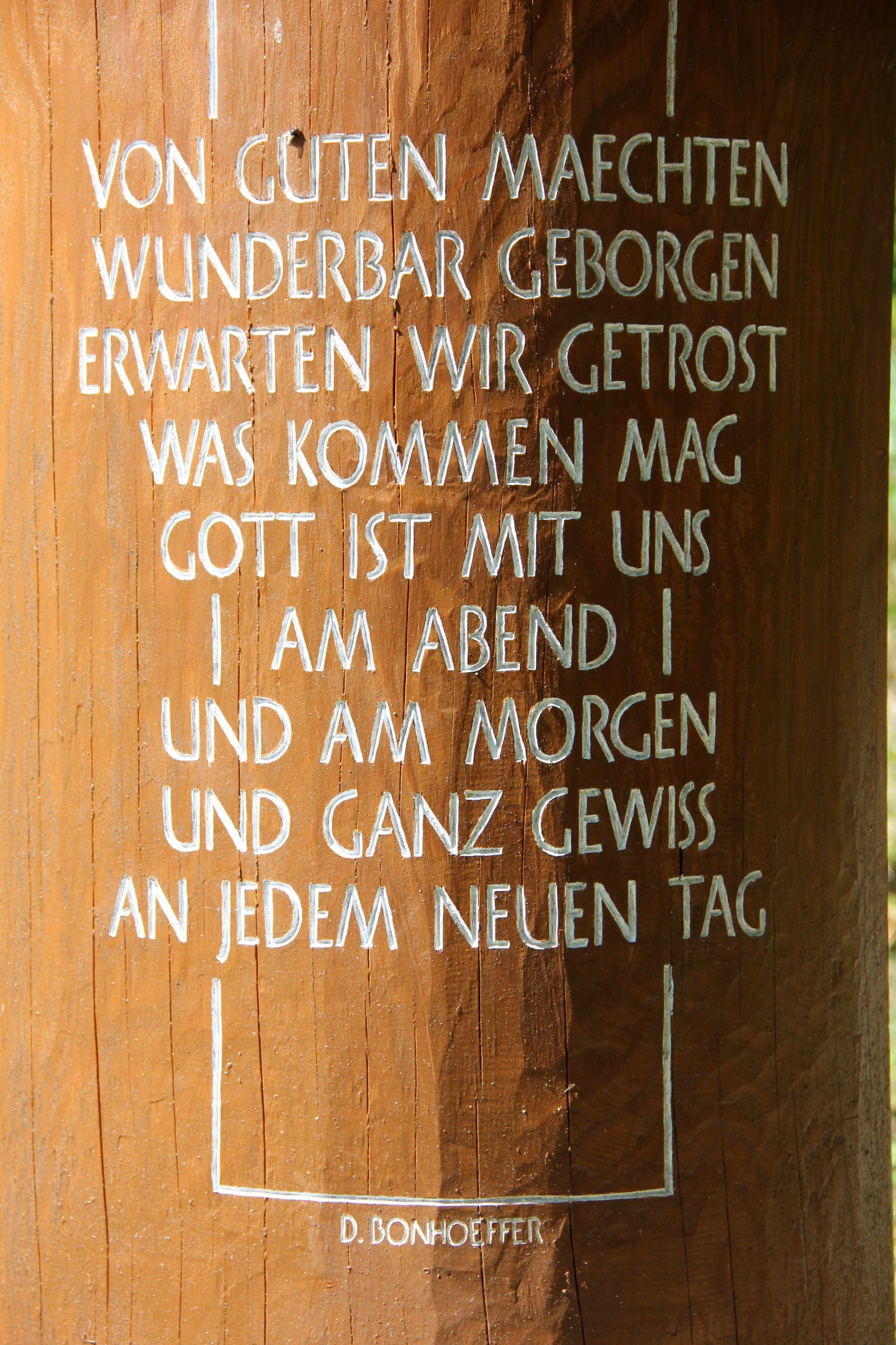 Dietrich Bonhoeffer Bonhoeffer Zitate Tolle Worte Christliche Spruche