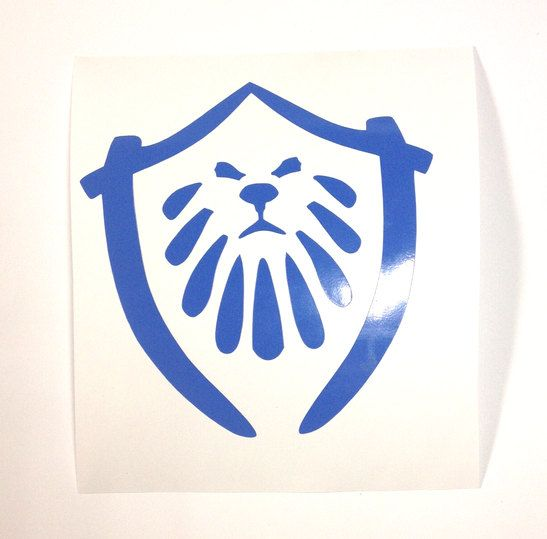 MoP Alliance Sticker, WoW Alliance Decal, PandaLand Alliance, Blue Wow Alliance, Oriental Alliance Decal, World of Warcraft Fan Art Pandaria by TipperaryLane on Etsy