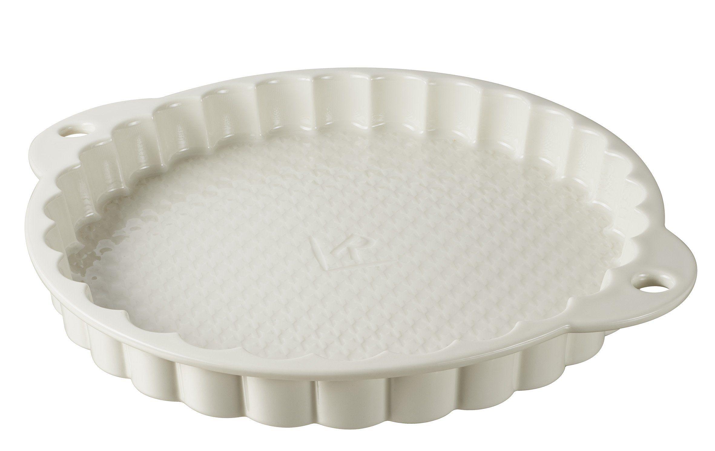 Flan Tin Tart Pie Pan Fluted Cake Baking Tray Non Stick Loose Base Mold Tool UK