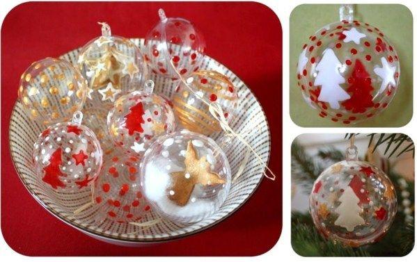 Comment Decorer Et Garnir Des Boules De Noel Transparentes Des