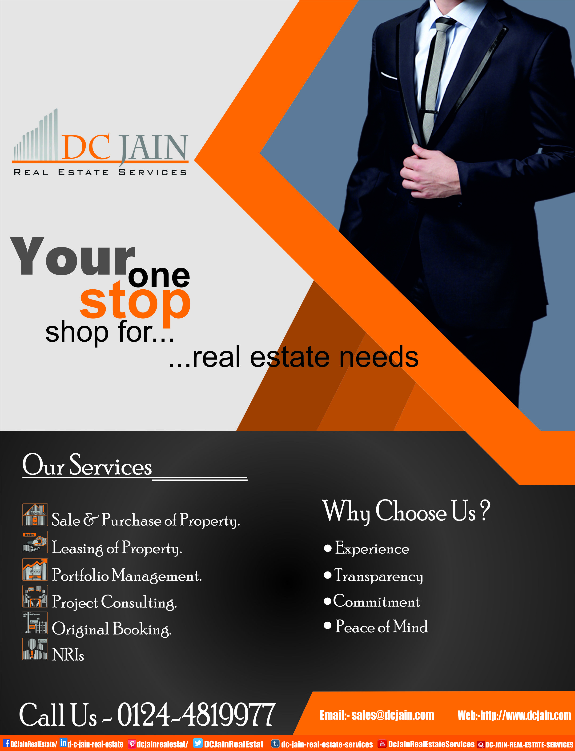 Your one stop shop for al estate needs dc jain real estate al estate needs dc jain real estate services to schedule a site visit or fix a meeting call 0124 4819977 you can also choose our services 1 1betcityfo Images