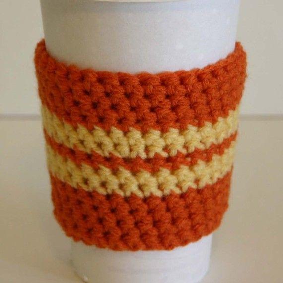 mug cozy crochet pattern | Crochet Cup Cozy PDF Pattern by ...