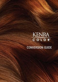 The KENRA Haircolor Conversion Guide is a great tool for new or experienced haircolorists!You can downloand and print this guide to keep on hand here.Here are a few other useful resources for stylists that use KENRA haircolor: Shade Chart KENRA Color Manual KENRA Color Artistic Application Guides Artistic RecommendationsKENRA Haircolor Conversion Guide