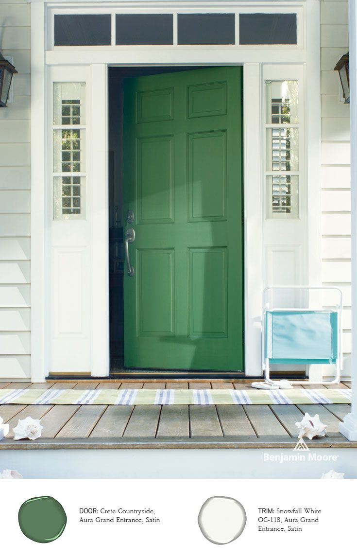 Paints exterior stains grand entrance auras and doors - Benjamin moore aura interior paint ...