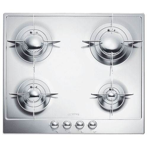 Smeg 24 Inch Piano Design Stainless Steel Gas Cooktop Gas Cooktop Stainless Steel Cooktop Cooktop