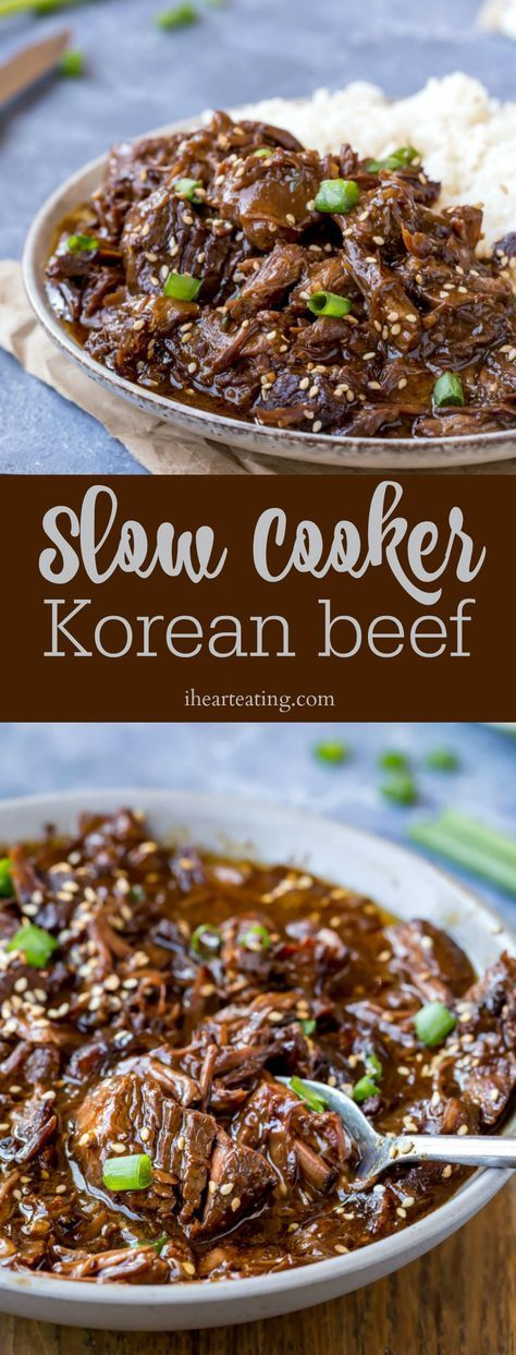 Slow Cooker Korean Beef images