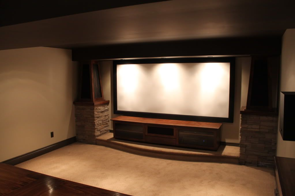 Home Theater Columns Stone   Google Search