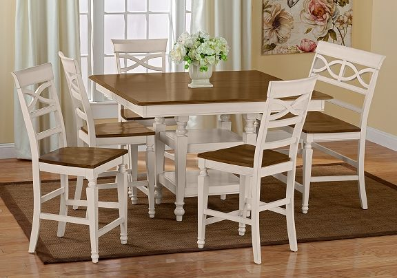 American Signature Furniture Mystic Dining Room Collection Counter Height Table 229 99 Dining Furniture Furniture American Signature Furniture