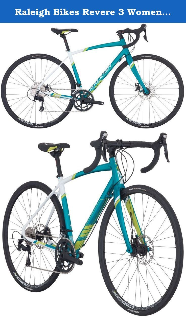 Raleigh Bikes Revere 3 Women S Endurance Road Bike 54 Cm Medium Teal Get Fit And Go The Distance On Raleigh S Revere 3 Wo Raleigh Bikes Road Bike Women Bike