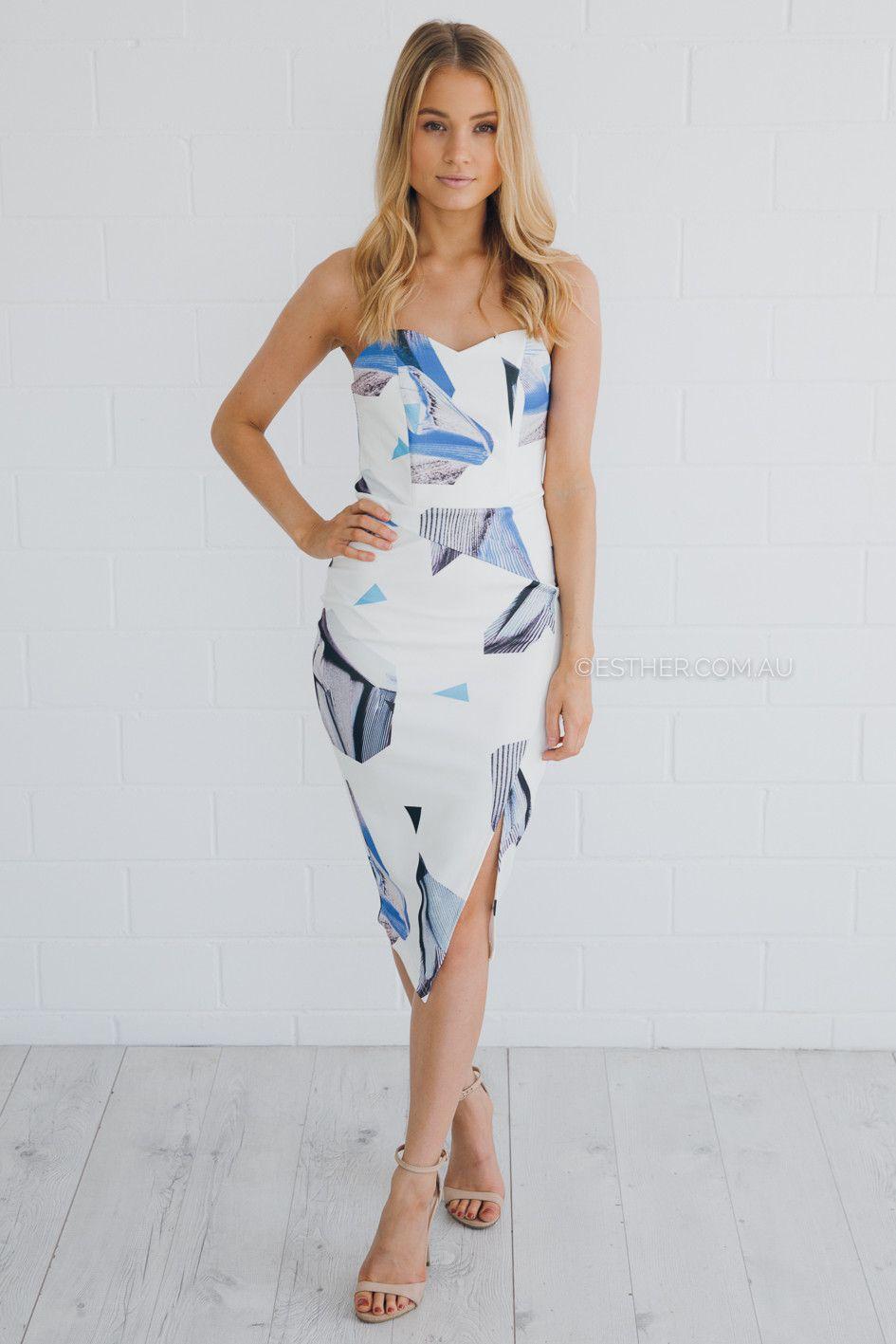 salem dress - print| Esther clothing Australia and America USA ...