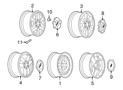 Tire Wheel Wheel For 2004 Gmc Envoy Xuv 1 In 2020 Gmc Envoy