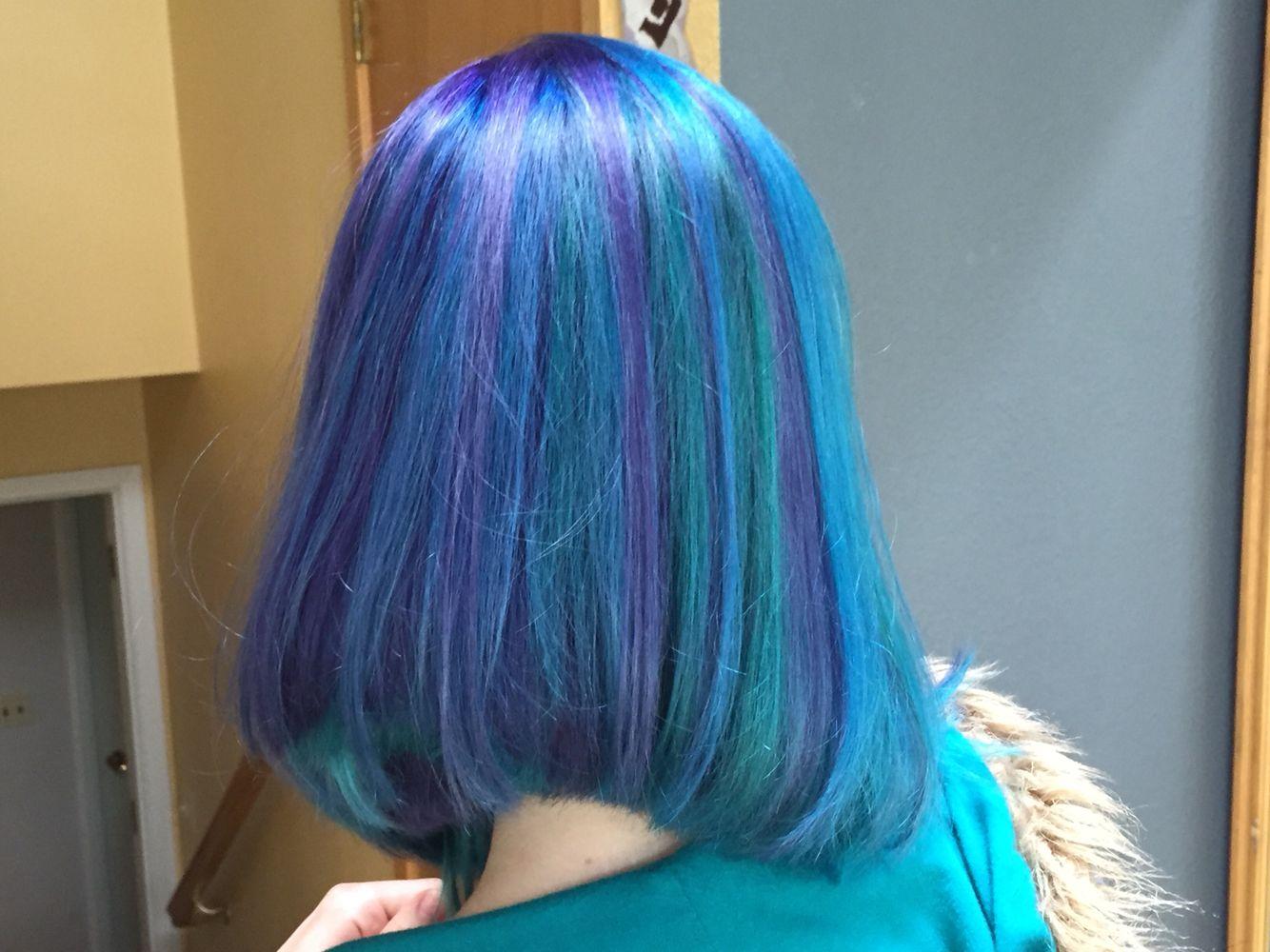 Mermaid Hair By The Color Bar Hair Studio In Anchorage Alaska Hair