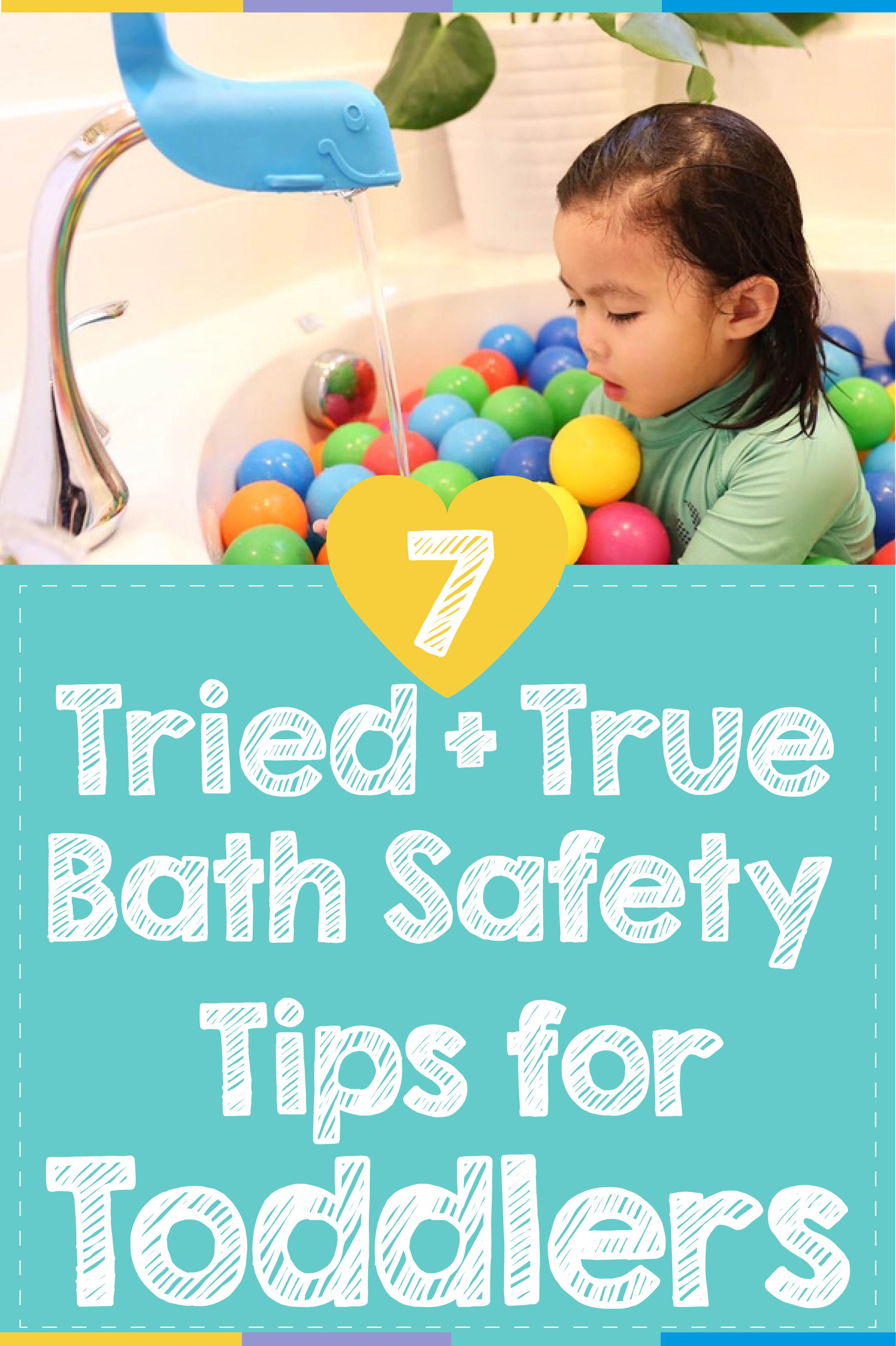 7 Tried and True Bath Safety Tips for Toddlers | Bath Time ...