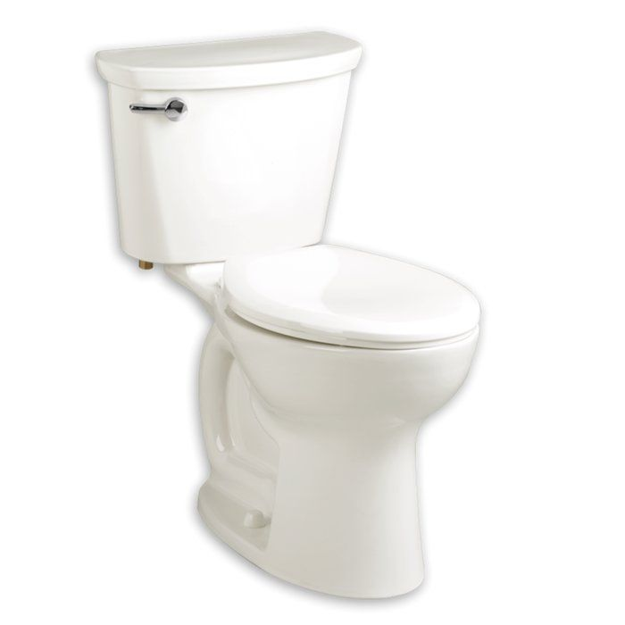 Cadet 1 6 Gpf Elongated Two Piece Toilet Seat Not Included