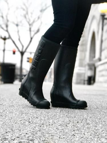 Joan Waterproof Rain Wedge Tall Boot