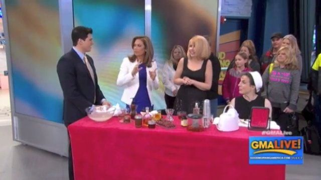 Organic Secrets to Healthy Skin - GMA Live!  Elina Talks
