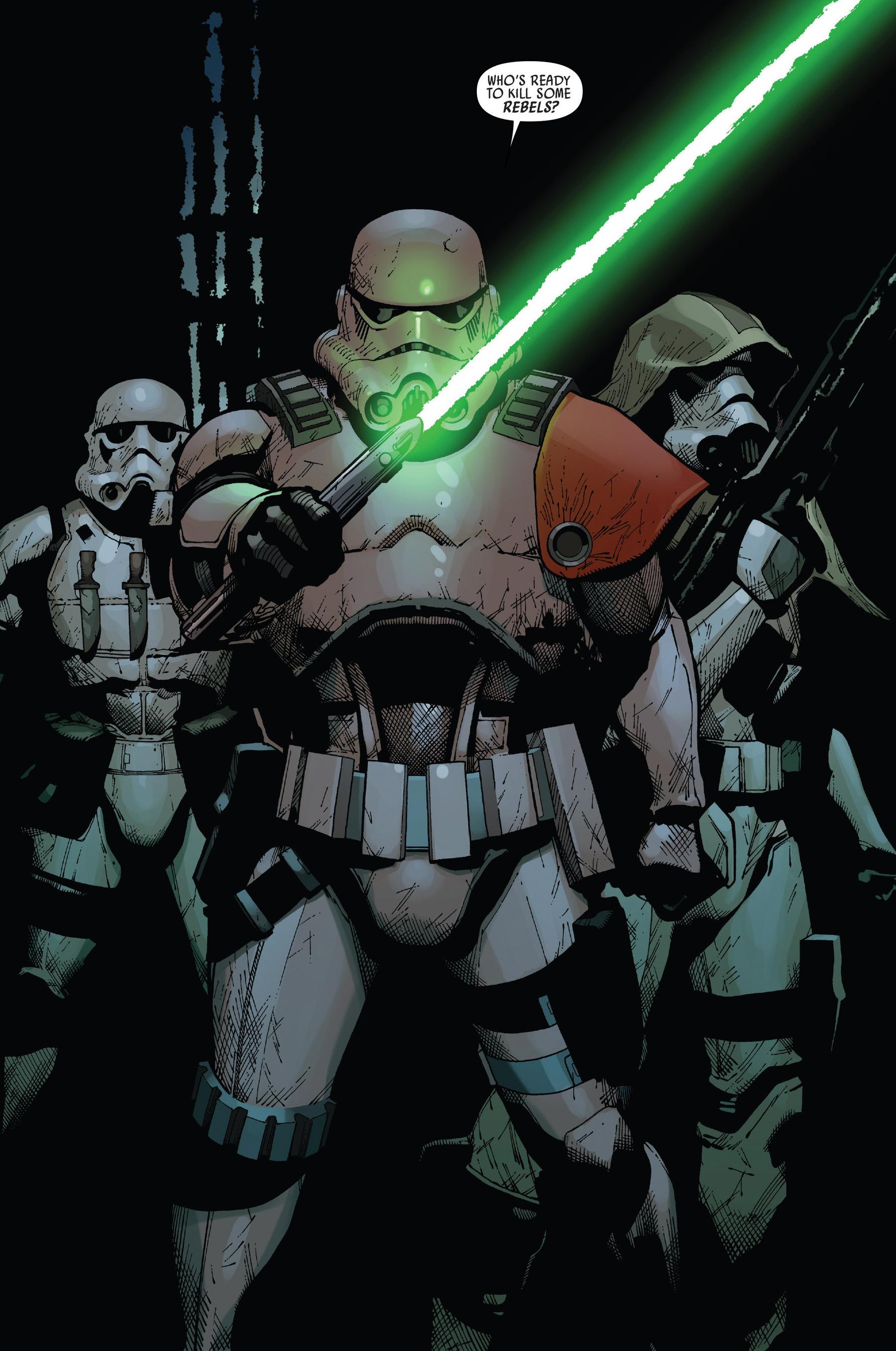 Sergeant Kreel Leads The Elite Stormtrooper Group Known As Task Force 99 Star Wars Comics Star Wars Characters Star Wars Artwork