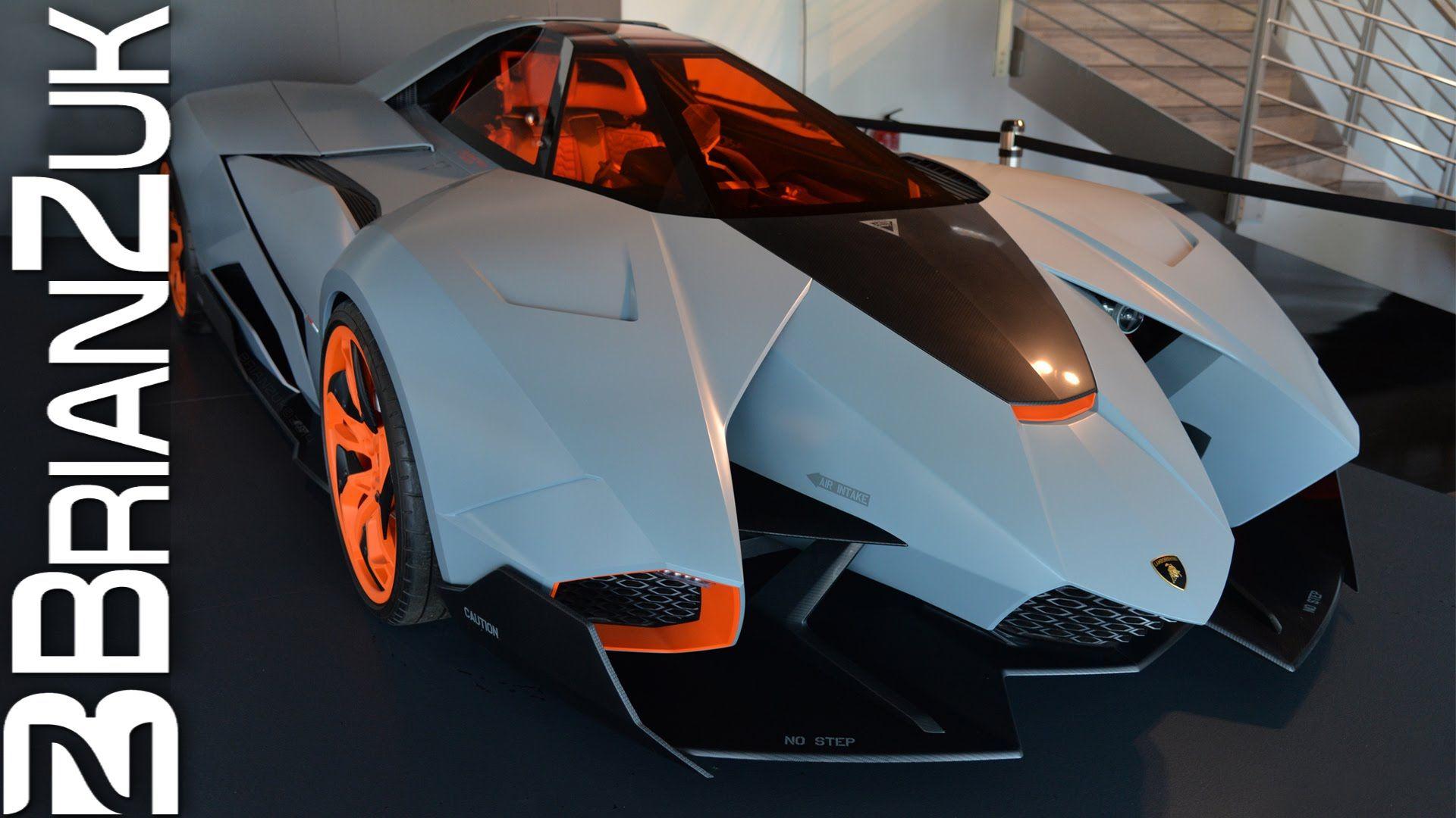 Delightful Lamborghini Egoista #FIRE