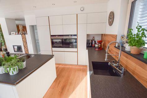 Küche   Weiß, Eiche Altholz Küchen Pinterest Kitchens