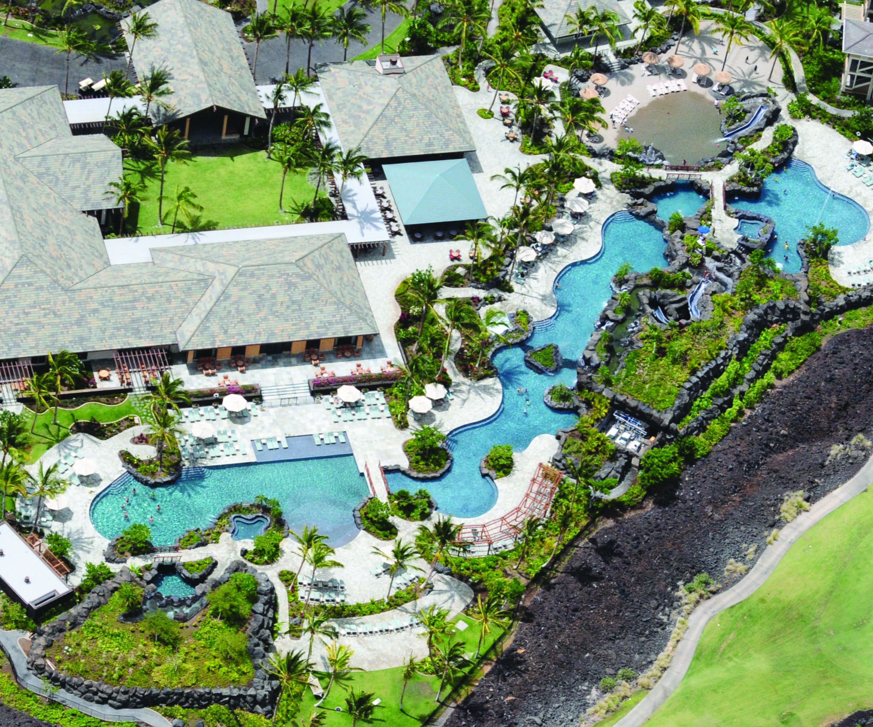 Day 1 the pool at hilton kings land in hawaii hawaii