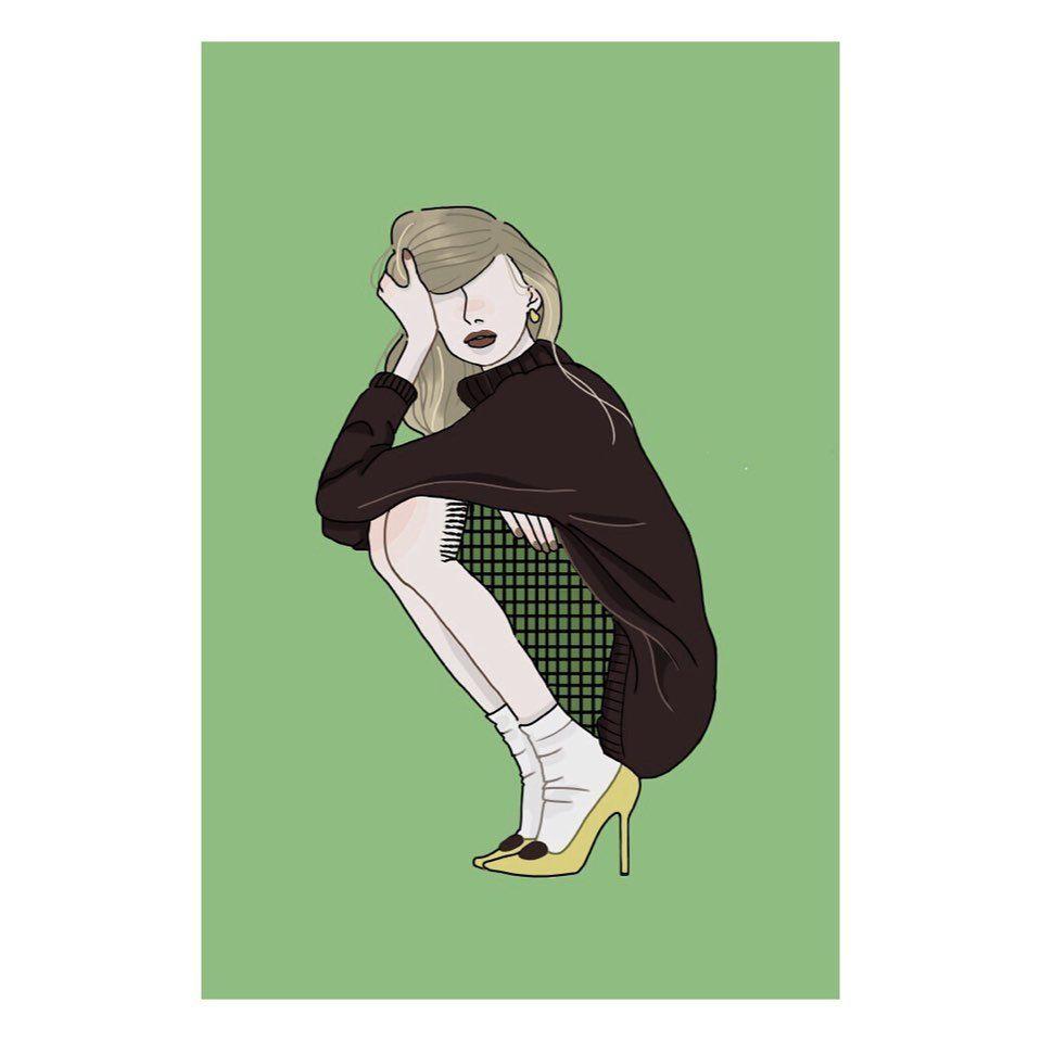 Yuri Watanabe On Instagram こういうコーデ可愛い と思ったら いいねお願いします 今日はお家の近くのコメダ 珈琲店にて 作業 お家近すぎて タグ付けできないww Netflix見ながらの作業は最高 Cool Designs Anime Character