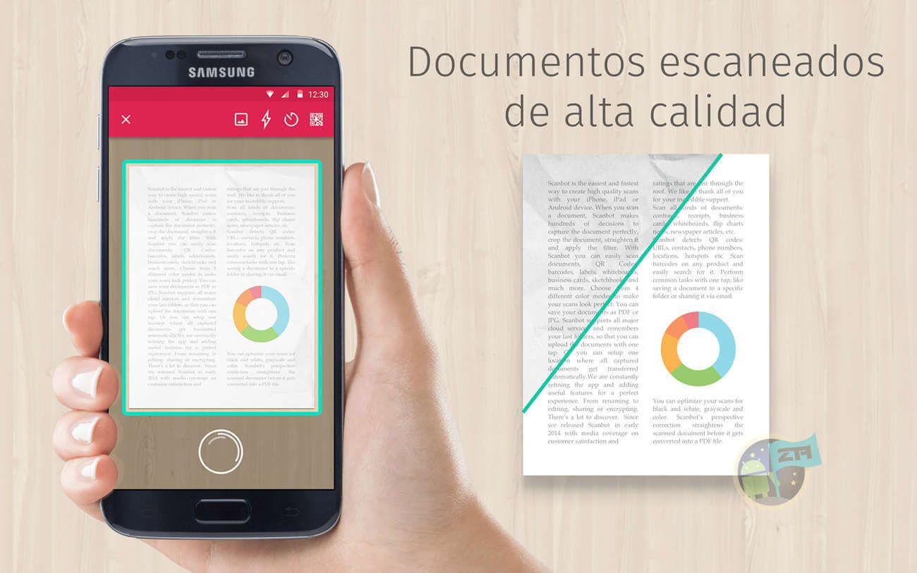 Top7 Mejores Aplicaciones Para Escanear Documentos En Android Top Aplicaciones Android Aplicaciones Android Android
