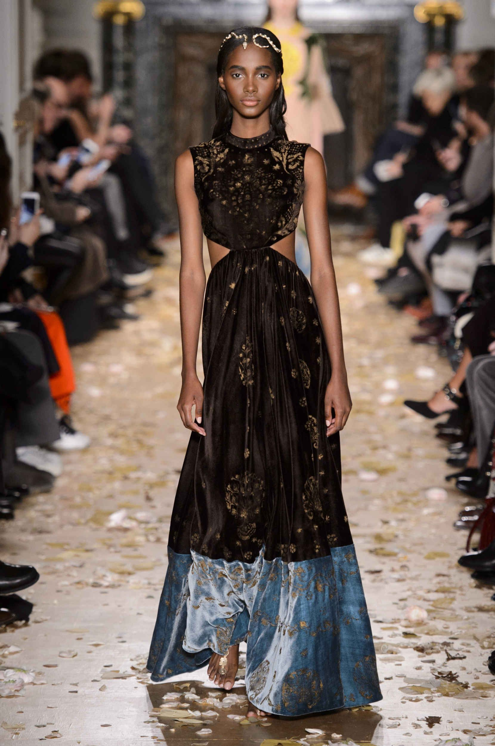 45438bfd3c Valentino Adds A Byzantine Touch to its Magical, Medieval Couture  Collection - Fashionista