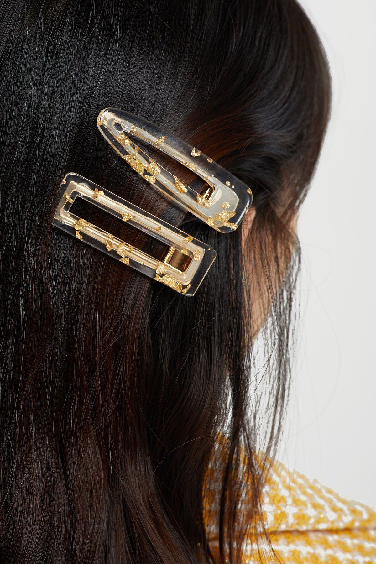 Glitter Resin Hair Clip Wedding Hair Accessories Hair Accessory Barrette Hair Clip Resin Barrette Resin Hair Clip Hair Accessories