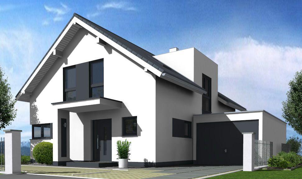 Massivhaus modern satteldach  persp12.jpg (972×576) | häuser mit satteldach | Pinterest ...