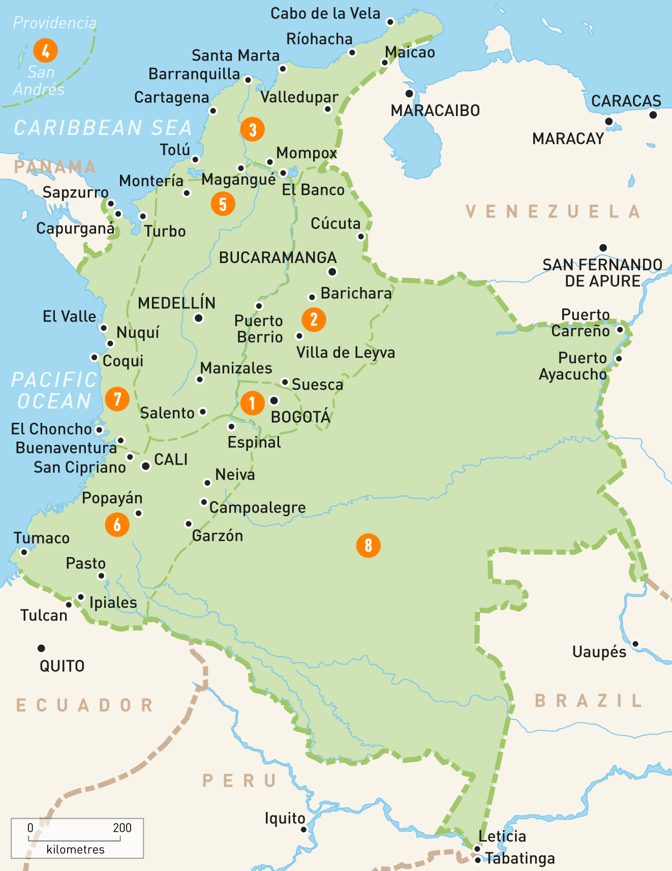 Colombia Map South America taller toilets diagram