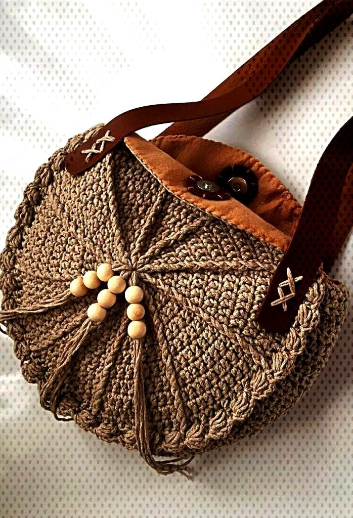 Bag Models Worth Seeing In August 2019 - Page 25 of 40 - Crochet Bag Models Worth Seeing In August