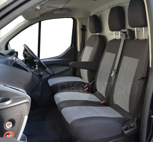 Ford Transit Custom Fully Tailored Seat Covers Without Fold Down