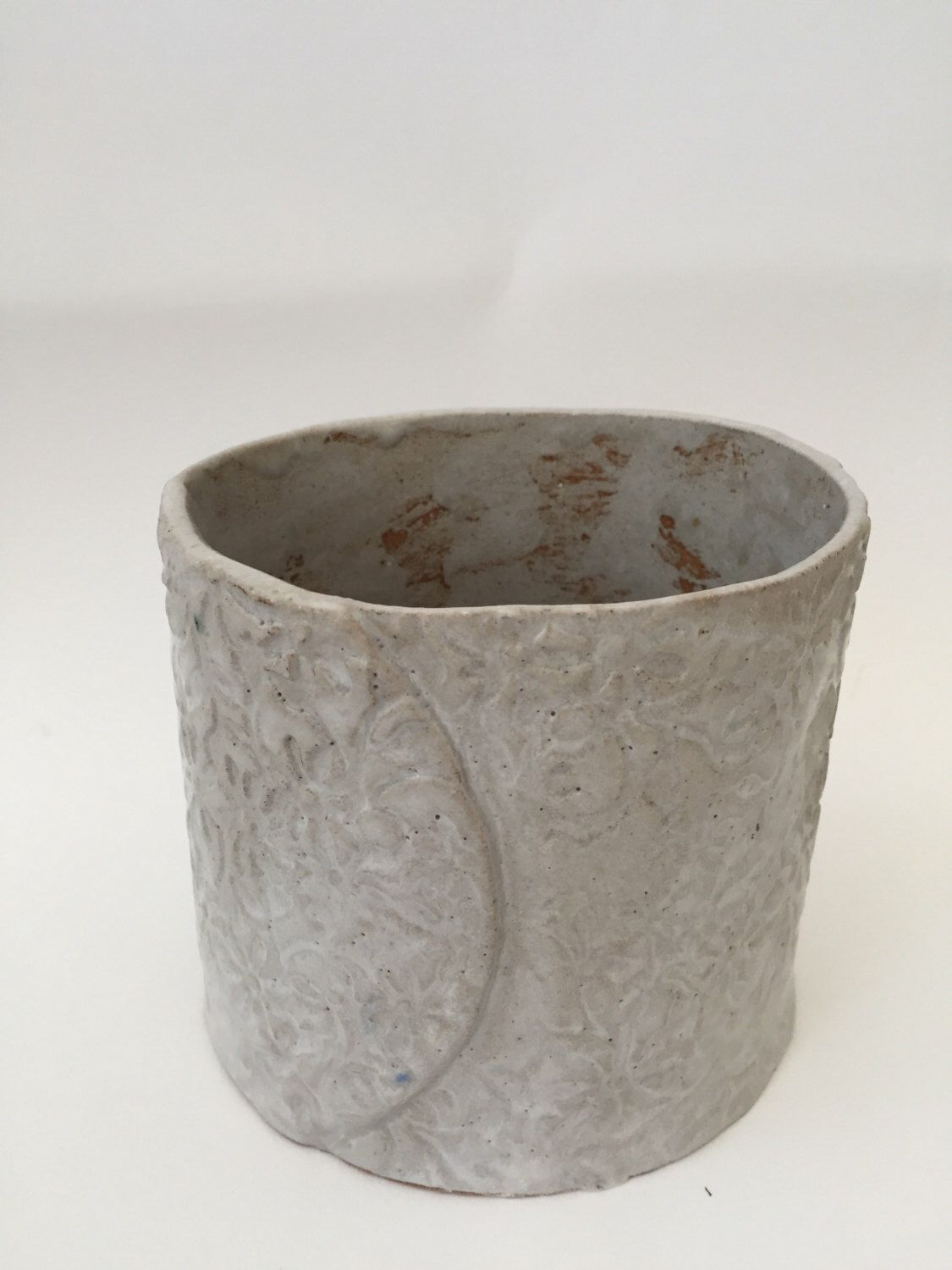 A personal favourite from my Etsy shop https://www.etsy.com/uk/listing/386208866/ceramic-handmade-plant-pot-indoor-or