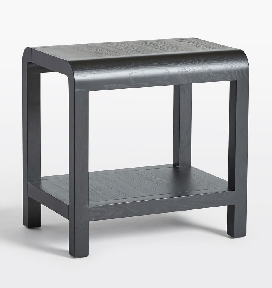 Woodson Black Ash Side Table In 2020 Table Bed Furniture Unique Wall Decor