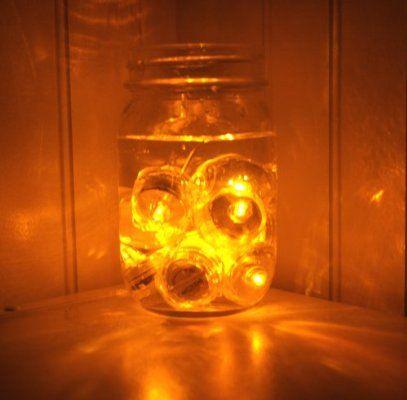 Pack Of 12 Amber Orange Yellow Submersible Waterproof Underwater Tea Light Sub Lights Battery Led Tealig Tea Lights Lighted Centerpieces Led Tea Lights