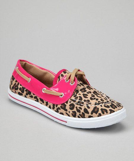 Leopard Boat Shoe @Marcia Cunha Winkfield