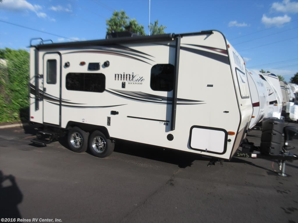10606a 2015 Forest River Rockwood Mini Lite 2109s For Sale In
