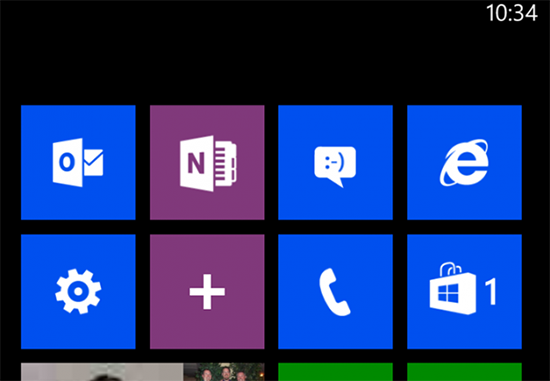 OneNote Blog Pin new note to your Windows Phone start