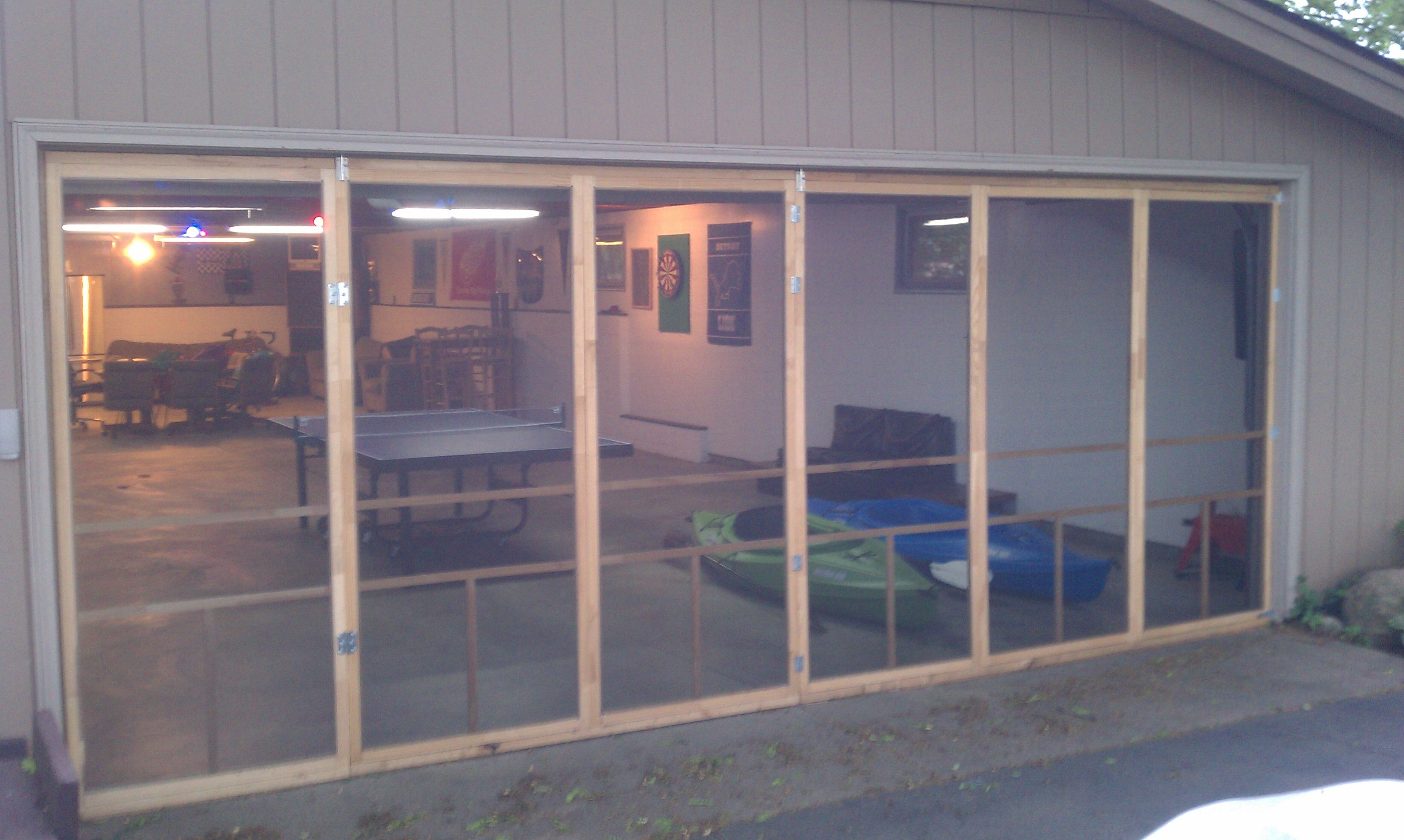 Bug Proofed The Hobby Garage Six Doors From Menards Each Cost