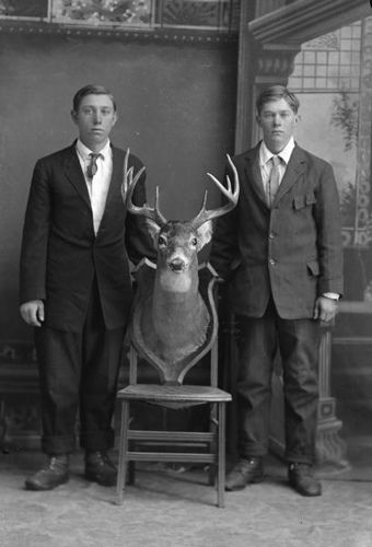 Carl and Roy Linnell by Wisconsin Historical Images, via Flickr